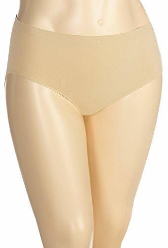 Modern Seamless Brief (Avenue Women's Classic Seamless Modern Brief Panty, 18/20 Nude)