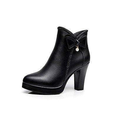 Zapatos Botas Talón Negro Otoño Chunky Perla Botas Toe 7 De Botines 5 Botines Parte RTRY De De Bowknot Señaló Ue37 Uk4 Imitación Mujer Us6 Microfibra 5 CN32 Por UK1 Invierno 5 Moda EU33 amp;Amp; 5 5 Cn37 US3 dnwqw0gxX