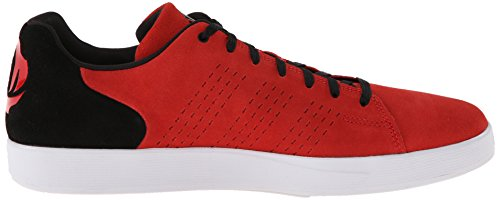 Adidas Prestaties Heren D Steeg Oever Basketbalschoen Scarlet / Zwart / Wit