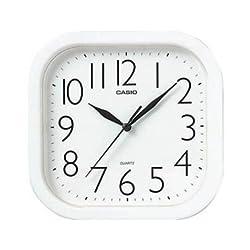 Casio IQ-02-7R White Analog Wall Clock