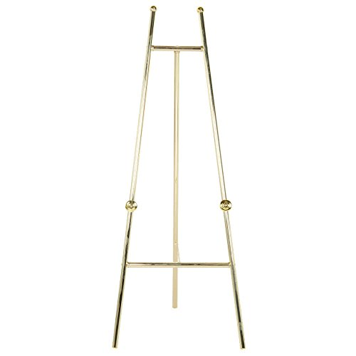 Brass Colored Metal Easel by TableTop King