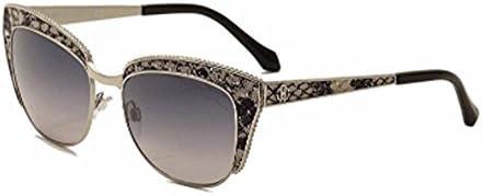 Cavalli Sunglasses RC 973//S Sualocin Sunglasses 16C Shiny Palladium 54mm