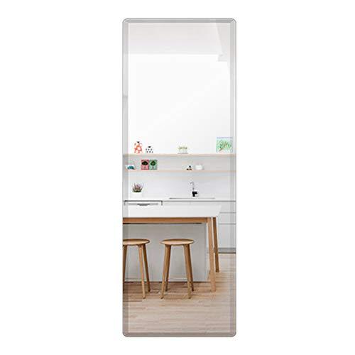 Rectangular Frameless Full Body Wall Mirror, 19 x 59 Inch Bathroom Bedroom -