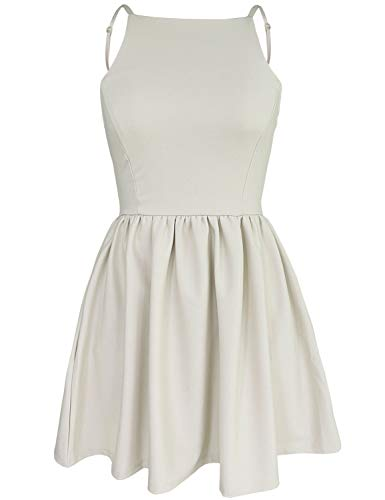 White Mini Casual Dress