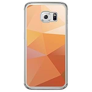 Loud Universe Samsung Galaxy S6 Edge Geometrical Printing Files A Geo 31 Printed Transparent Edge Case - Yellow