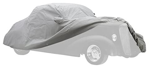 Covercraft Custom Fit Car Cover for Pontiac Firebird (Technalon Evolution Fabric, Gray) - Covercraft Universal Cab Cover