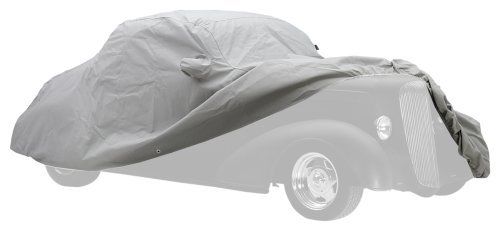 Covercraft Custom Fit Car Cover for Volkswagen (Technalon Evolution Fabric, Gray) (Volkswagen Block Covercraft Rabbit)