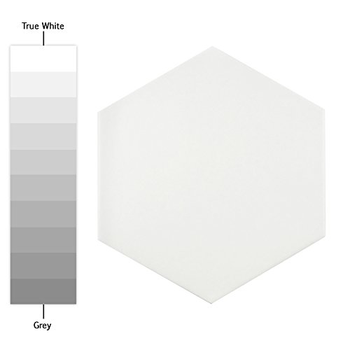SomerTile, White FCD10WTX Abrique Hex Porcelain...