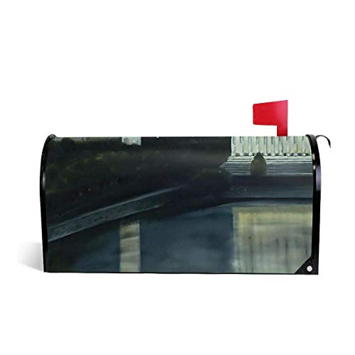 Washington DC Under Moonlight Magnetic MailWrap Mailbox Cover Home Mailbox Drop]()