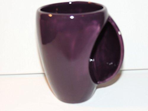Hand Warmer  Snuggle Mug Unique Purple Glaze  Food And Dishwasher Safe
