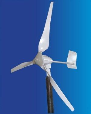 Aleko WG700 12-Volt 3-Blade 700 Watt Wind Generator With Charge Controller