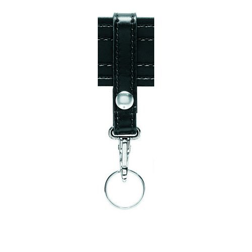 - Safariland 169S Key Ring 1 Snap, Black Basketweave