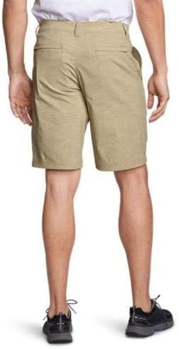 Eddie Bauer Mens Horizon Guide Chino Shorts Pattern