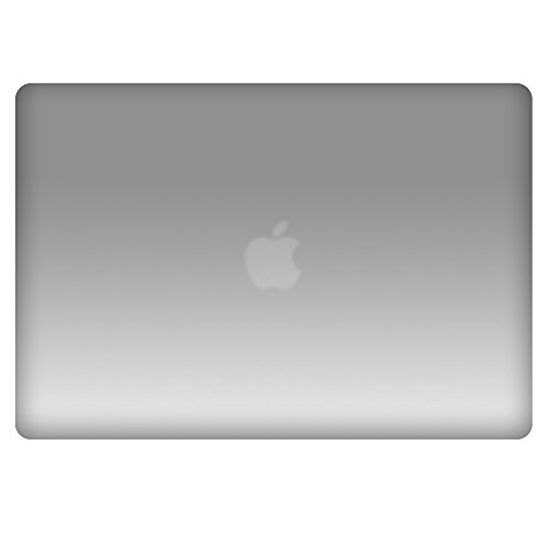 Metallic Hard Case Cover With Keyboard Skin for MacBook Air 13-Inch (A1369/A1466) - Metallic - Friday Black Wristbands