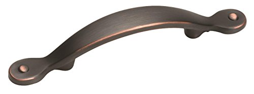 Amerock BP1590-ORB Inspirations Plain 3-Inch Pull, Oil Rubbed Bronze ()