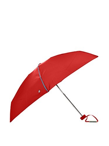 Piquadro Paraguas Pocket Rojo Única