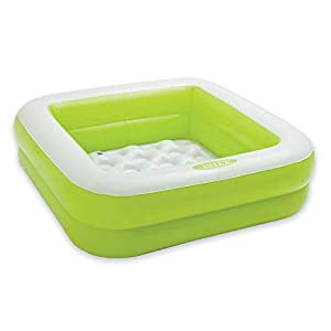 INTEX Baby Pool Play Box Piscine Couleurs Assorties 85 x 85 x 23 cm Vert 5