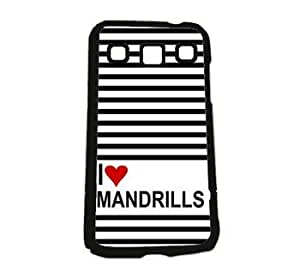 Love Heart Mandrills Samsung Galaxy Win i8550 i8552 Case - Fits Samsung Galaxy Win i8550 i8552