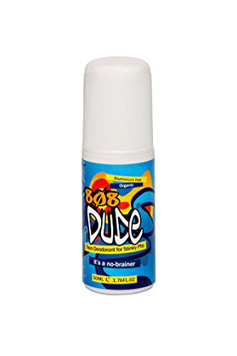 808Dude 100% Natural Deodorant Australian Made for Teen Boys Stinky Pits