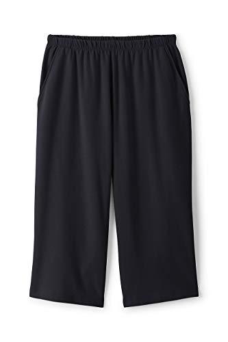 Lands' End Women's Plus Size Sport Knit Capri Pants ()