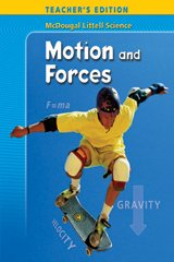 McDougal Littell Science: Motion and Forces, Teacher's Edition