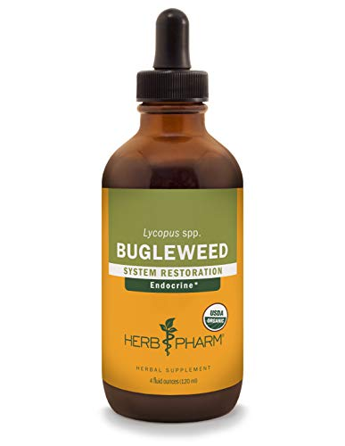 (Herb Pharm Bugleweed Liquid Extract for Endocrine System Support - 4 Ounce)