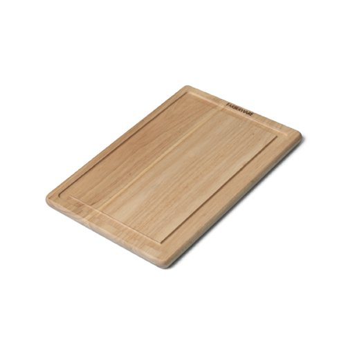 Farberware Hardwood Cutting Board with Drip Groove Trench, 12-Inch-by-18-Inch