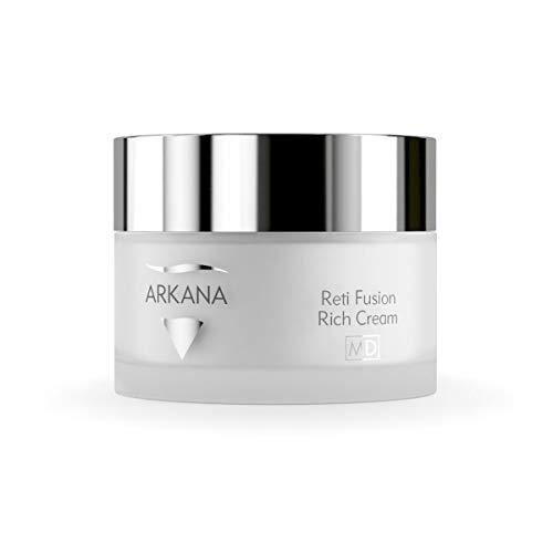 Professional Strength Night Face Cream, Rich with Retinol, Ferulic Acid, Vitamin C and E, Reti Fusion 50ml (1.7fl oz) Made in EU by Arkana a Professional European Spa Brand