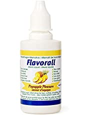 Greeniche Flavorall   Liquid Flavored Stevia Drops 50 ML   Organic and Pura Stevia Sweetener   20 Natural Flavors   Sugar Replacement for Everyday Consumption   No Bitter Aftertaste   Alcohol Free