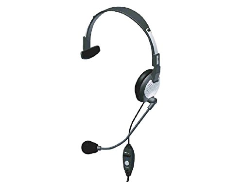- Andrea Communications NC-181VM USB On-Ear Monaural Computer Headset with Noise-canceling Microphone, in-line Volume/Mute Controls, and Built-in External Sound Card and USB Plug