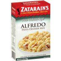 Alfredo Pasta Dinner - Zatarains New Orleans Style Alfredo Pasta Dinner Mix, 6.3 ounce Boxes (Case of 8)
