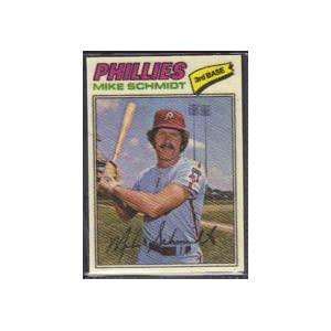1977 Topps Cloth Stickers (Baseball) Card# 41 Mike Schmidt of the Philadelphia Phillies NrMt Condition