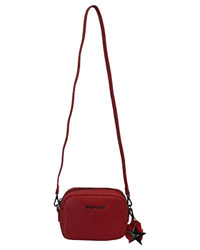 Shop Art - Cartera de mano de cuero sintético para mujer Rojo rojo