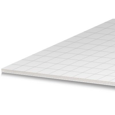 Royal Brites Foam Board Gridboard, 20 x 30 Inches, White Grid Lines, 2-Sheet Pack (72710) ()