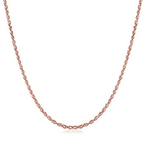 [AmDxD Jewelry Gold Plated Chain Necklaces for Men Women Rose Gold Rolo Chain] (Bulls 24k Gold Coin)
