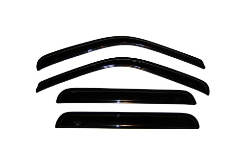 Ford Excursion Vent - Auto Ventshade 94438 Original Ventvisor Dark Smoke, 4-Piece Set for 2003-2005 Ford Excursion