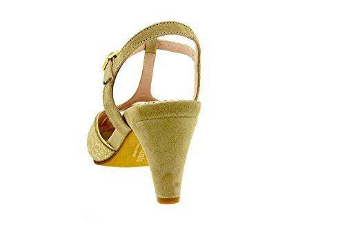 Confortables 8258 En Chaussure Cuir Amples Confort Femme Sandale Duna Piesanto wBUq4Zn
