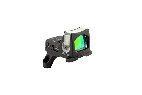 Trijicon RM04-35 RMR 7 MOA Dual-Illuminated Amber Dot Sight with RM35 Full Size ACOG Mount with Bosses