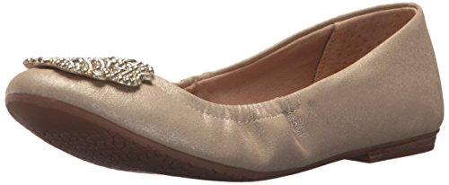 Tahari Mujeres Ta-venus Ballet Flat Warm Gold