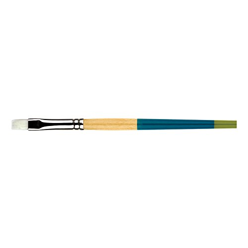 Princeton Snap Brushes 6 white taklon flat shader (Flat Shader Golden Taklon Brush)