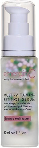 emerginC - MultiVitamin + Retinol Serum with Micro-Encapsulated Spheres + Vitamin C to Help Combat Visible Signs of Aging, Sensitive Skin + Minor Redness (1.0oz / 30ml)