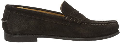 Ii Donna brown Mocassini Suede Plaza Marrone Sebago TqwB0fx
