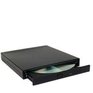 Generic 24x USB External Slim CD-ROM Drive (Black)