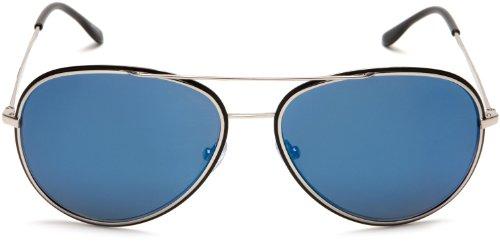 Glory de S8299 soleil Lunette Palladium Blue Aviator Matt Silver Shiny Black Police Semi qIwx4aq