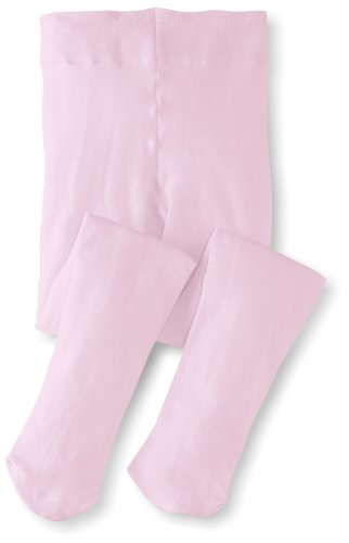 Jefferies Socks Little Girls'  Pima Cotton Tights, Pink, 2-4 Years