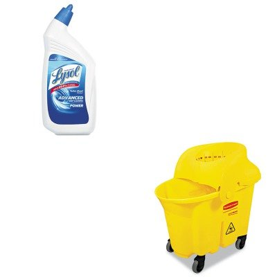 KITRAC74278CTRCP759088YEL - Value Kit - Rubbermaid-Wavebrake Institutional Combo Yellow (RCP759088YEL) and Professional LYSOL Brand Disinfectant Toilet Bowl Cleaner (RAC74278CT)