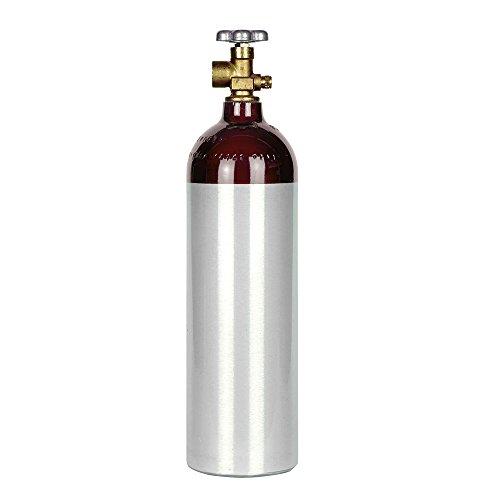 New 22 cu ft Aluminum Helium Cylinder with CGA580 Valve