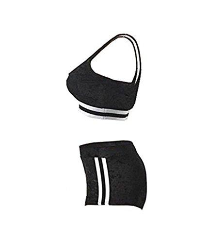 Misschicy Misschicy Donna Donna Donna Tailleur 3291 pantalone Black rETp84qr
