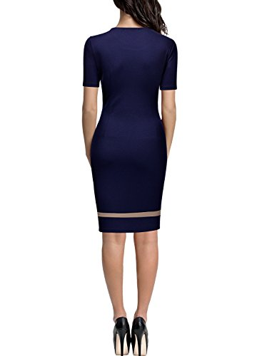 Miusol Miusol - Vestido Mujer Azul
