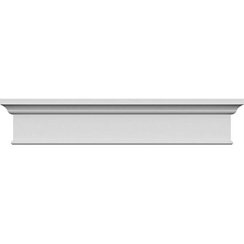 Pediment Top - Ekena Millwork CRH06X43PN-1 43